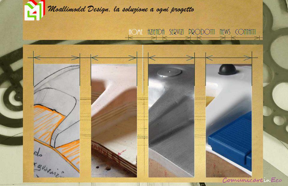 Comunicareinecosito moallimodel design comunicareineco for Design sito