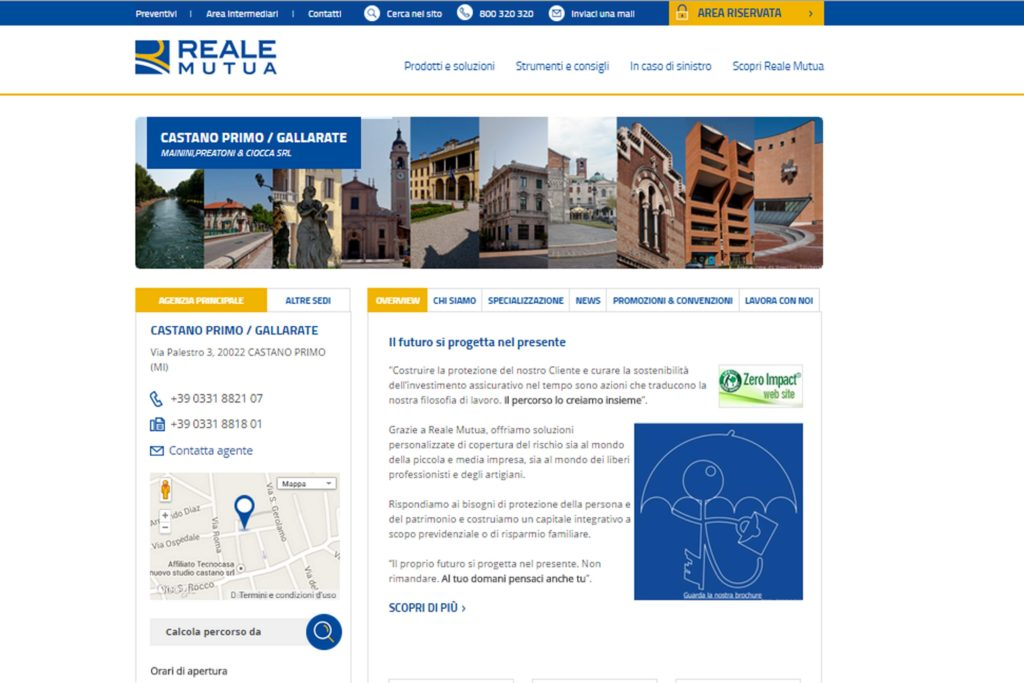 sito Reale Mutua_Mainini Preatoni & Ciocca