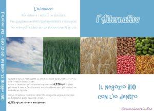 """Brochure per """"L'Alternativo di Oleggio"""""""