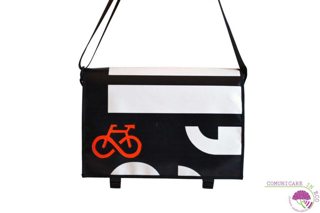 borsa porta pc 13 pollici_borsa bici posteriore