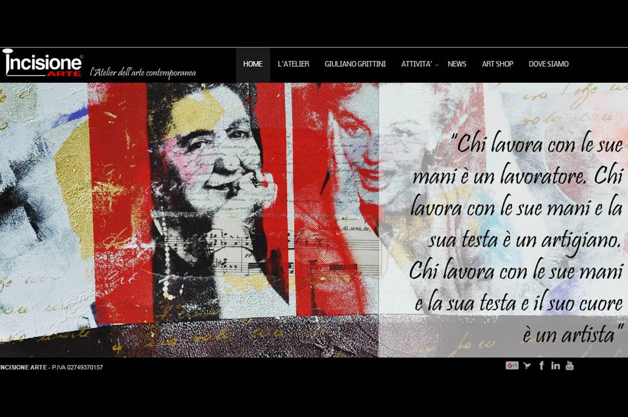 sito internet_incisione arte