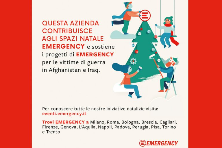 Natale per Emergency 2018_comunicareineco Studio Lab