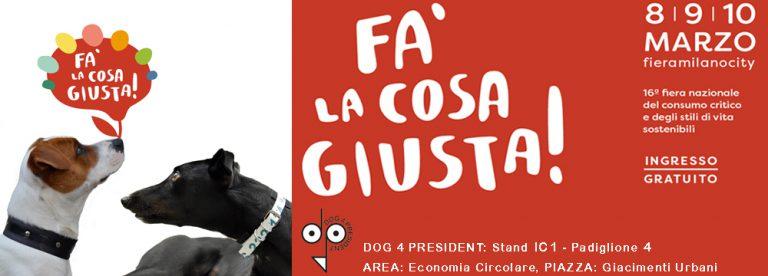 falacosagiusta_collari per cani dog4president