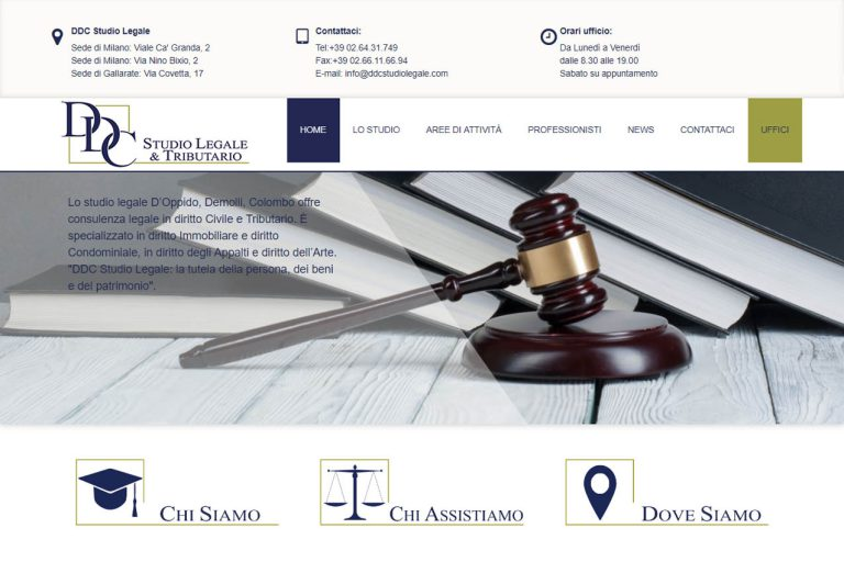 sito web professionale_ddc studio legale_comunicareineco